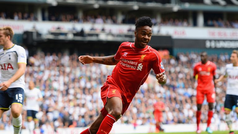 Sterling: Man of the Match at White Hart Lane