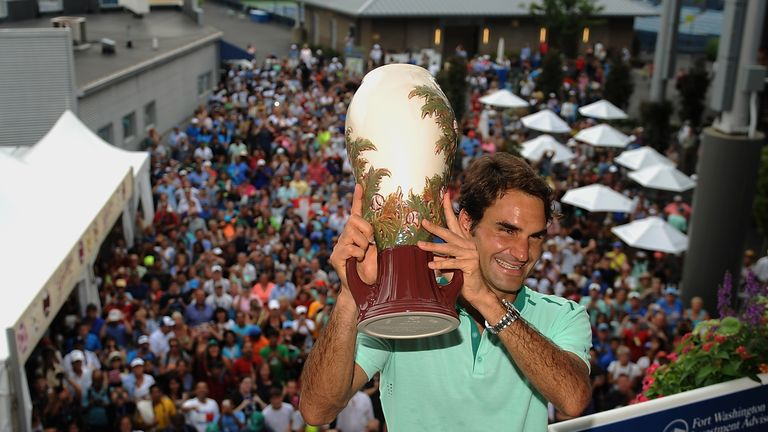 Roger Federer: Won his first Masters 1000 title in two years