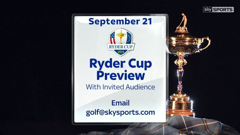 The Ryder Cup - coming soon!