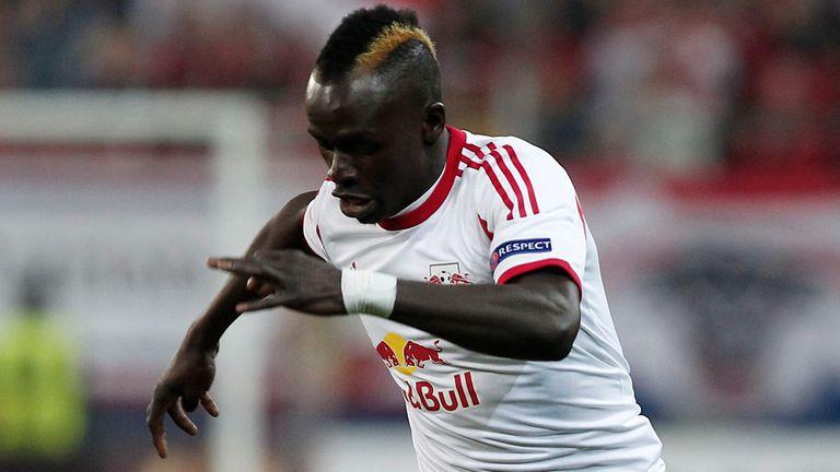 Sadio Mane: Southampton chasing Salzburg midfielder