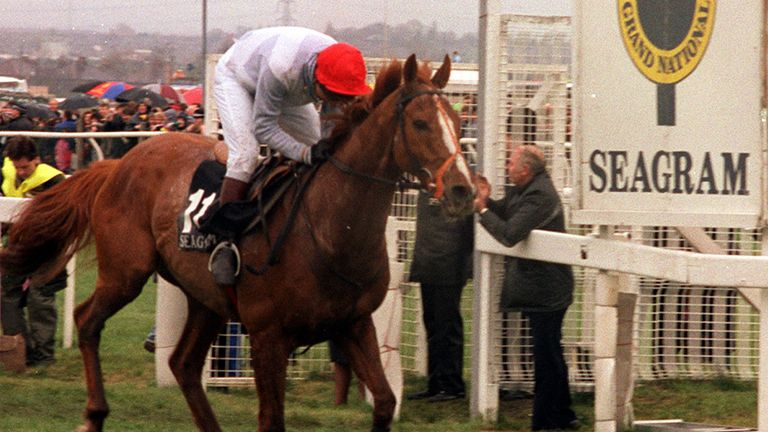 Seagram won the Grand National in the colours of the late Sir Eric Parker