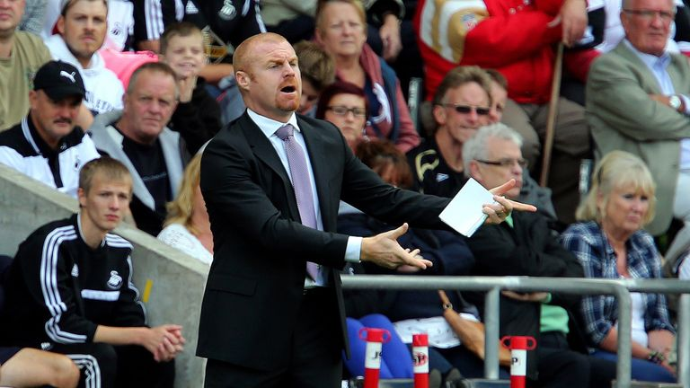 Sean Dyche: Has signed seven players for Burnley during this transfer window