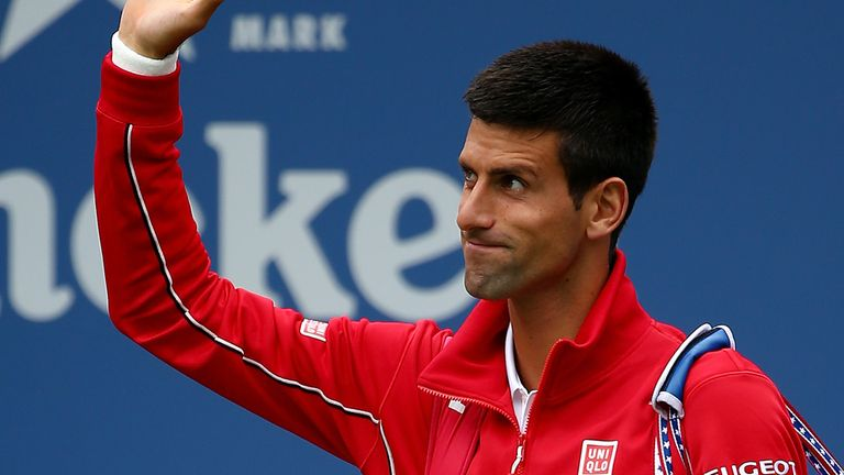 Novak Djokovic: looks every inch the man to beat