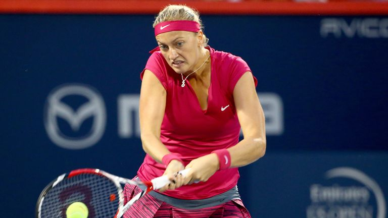 Petra Kvitova: Eased past Sam Stosur to advance to the final in New Haven