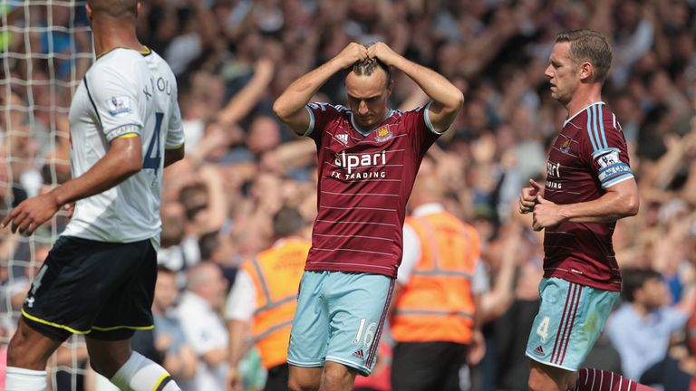 West Ham: defeat to Spurs saw them equal an unwanted landmark with their opponents