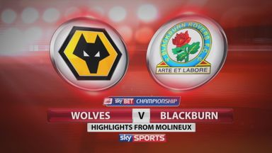 Wolves 3-1 Blackburn