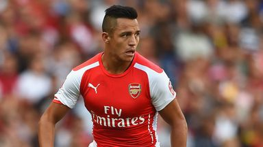 Alexis Sanchez: Looking to spark title challenge at Arsenal