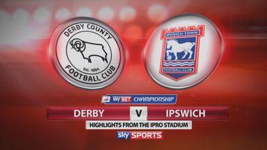 Derby 1-1 Ipswich