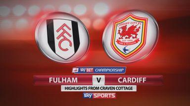 Fulham 1-1 Cardiff