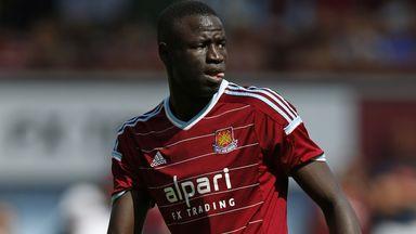 Cheikhou Kouyate: West Ham midfielder faces six weeks out
