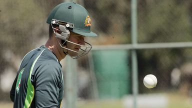 Michael Clarke: Fitness race ahead of first Test against Pakistan.