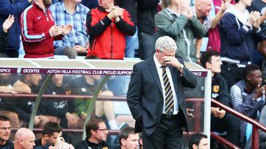 Steve Bruce: Saw Hull lose at Villa Park