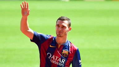 Thomas Vermaelen: Carrying an injury