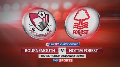 Bournemouth 1-2 Nottingham Forest