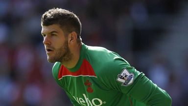 Fraser Forster: Goalkeeper has made a great start to his career at Southampton