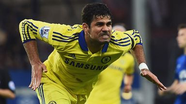 Diego Costa: Hoping form will continue for Chelsea