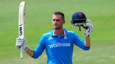 Alex Hales: Nottinghamshire batsman has been rewarded for his fine recent form
