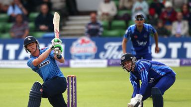 Sam Billings: Hammered 61 in a hurry to help Kent record a competitive total