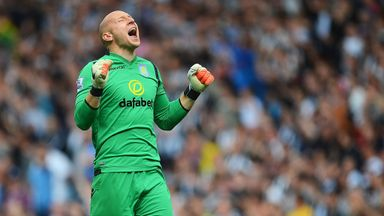 Brad Guzan: Delighted with Aston Villa's defensive performances this season