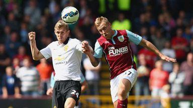 Darren Fletcher: Manchester United midfielder challenges Burnley