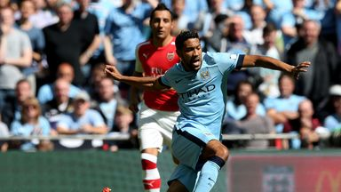 Gael Clichy: Manchester City left-back says there is no panic at the club