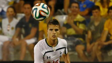 Erik Lamela: Keen to improve at Tottenham
