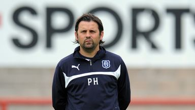 Paul Hartley: The Dundee manager was delighted with his team