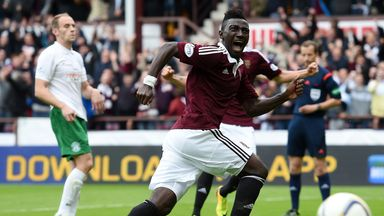 Prince Buaben: Option to stay longer at Hearts.