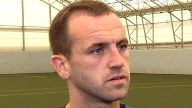 James McFadden: Thinks that Scotland can aim high after an encouraging performance against Germany