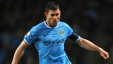 James Milner: Manchester City midfielder wants more playing time