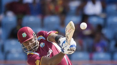 Kieron Pollard: Hit 89 to help the West Indies recover from 34-5 in their run chase