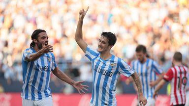 Malaga: Claimed an impressive win