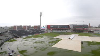 Emirates Old Trafford: Outfield not fit for play on Friday night