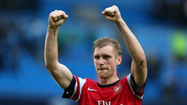 Per Mertesacker: Could feature against Besiktas
