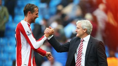 Mark Hughes insists Peter Crouch isn