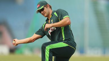 Shane Watson: misses trip to Middle East to face Pakistan