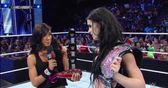 AJ Lee's gift to Paige