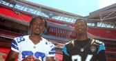 NFL: Sky Sports speaks to cornerback Brandon Carr about Wembley, the Dallas Cowboys and Jerry Jones