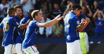 Leonardo Ulloa: Celebrates scoring for Leicester