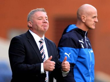 Ally McCoist: Happy to be drawn at home in the cup