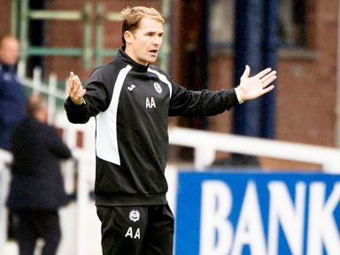 Alan Archibald: Has a few injury issues to concern him