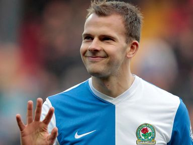 Jordan Rhodes: At the double for Rovers
