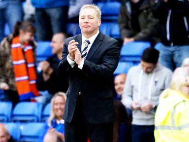 Ally McCoist's men will face East Fife in the last eight