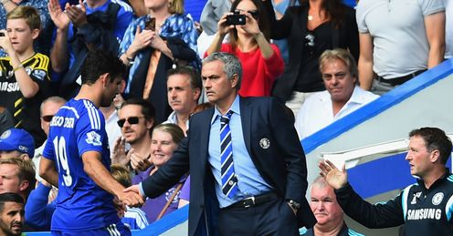 Jose Mourinho: Congratulates Diego Costa on goal