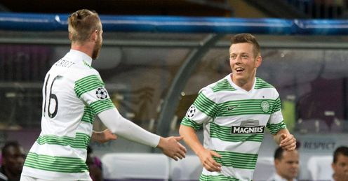 McGregor: Hailed after opening the scoring for Celtic against Maribor