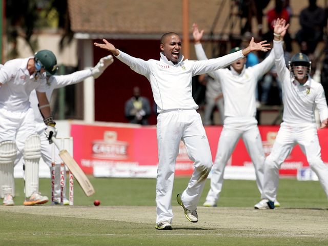 Dane Piedt: South African spinner took eight wickets on Test debut