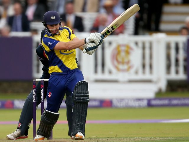 Ian Cockbain: Hit 98 not out at New Road