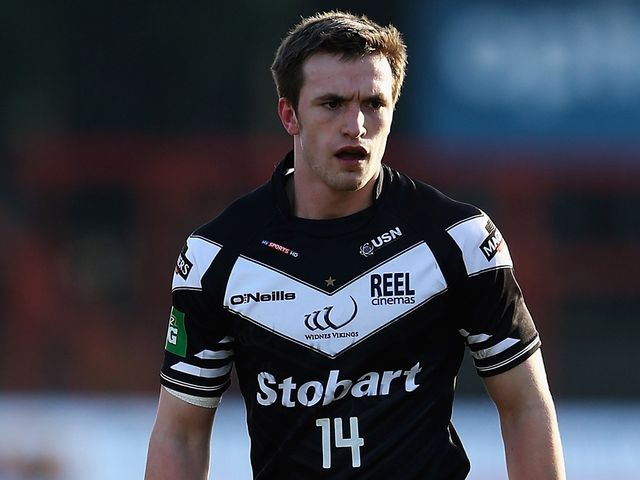Joe Mellor: Scored a crucial try for Widnes Vikings