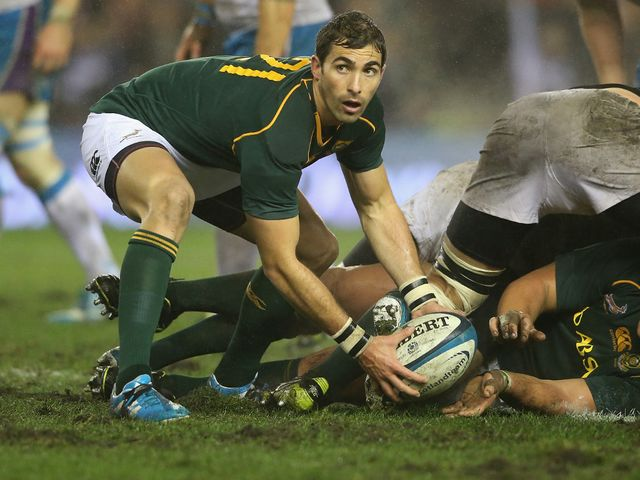 Ruan Pienaar: Scored the opening try