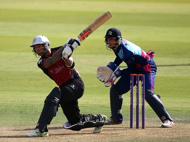 Peter Trego hits out en route to his 'special' century